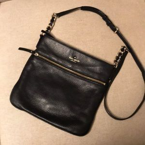Kate Spade black Cobblehill crossbody purse